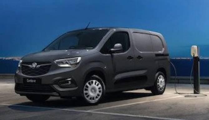 Vauxhall Van exterior